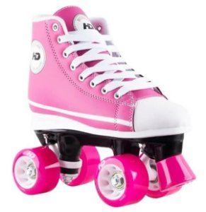 Patins Hondar Retrô All Star Rosa Abec 7
