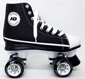 Patins Hondar Retrô All Star Preto Abec 7