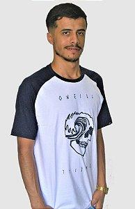 Camiseta Oneill Estampada Raglan
