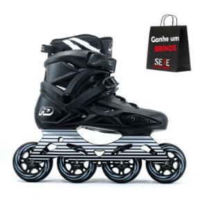 PATINS HD INLINE SERIE X C/ 4 RODAS 80MM