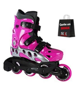 PATINS INLINE TRAXART SPECTRO ROSA 72MM ABEC-5