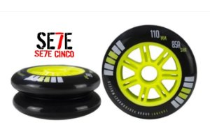 JOGO c/ 3 RODAS FREESTYLE TRAXART EKSTENSION 110MM 85A