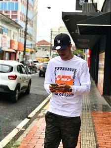 Camiseta HD Box Manga Longa Masculina
