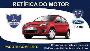 Retífica de motor Ford Fiesta Zetec Rocam 1.0 - Pacote Completo