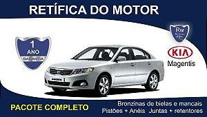 Retífica de Motor Kia Magentis EX 2.0 Pacote Completo