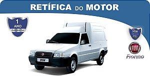 Retífica de motor Fiat Fiorino Pacote Econômico