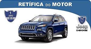 Retífica de motor Jeep Cherokee Pacote Econômico
