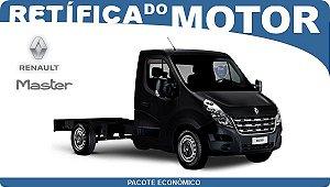 Retífica de motor Renault Master Pacote Econômico