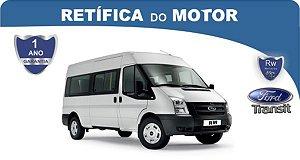 Retífica de motor Ford Transit Pacote Econômico