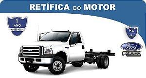 Retífica de motor Ford F-4000 pacote econômico