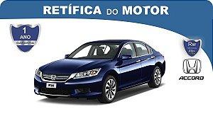 Retífica de motor Honda Accord pacote econômico