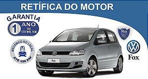 Retífica de Motor Volkswagen fox pacote econômico