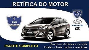 Retífica de motor Hyundai i30 pacote completo