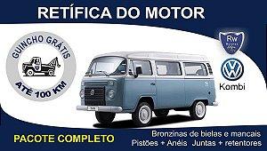 Retífica de motor Volkswagen Kombi pacote completo