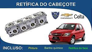 Retífica de Cabeçote Chevrolet Celta