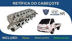 Retífica de Cabeçote Hyundai HR 2.5 Turbo Diesel