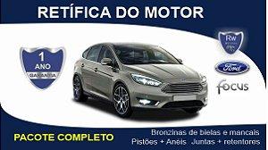 Retífica de motor Ford Focus 2.0 Zetec / Duratec pacote completo