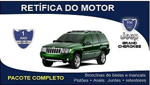 Retífica de motor Jeep Grand Cherokee 3.1 Turbo Diesel Pacote Completo