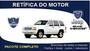 Retífica de motor Jeep Grand Cherokee 5.2 V8 Pacote Completo