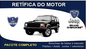 Retífica de motor Jeep Grand Cherokee 5.9 V8 Pacote Completo