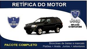 Retífica de motor Jeep Grand Cherokee 2.7 Turbo Diesel Pacote Completo