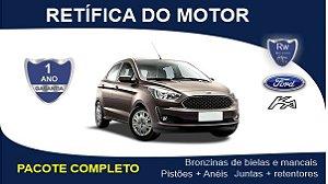 Retífica de motor Ford Ka 1.0 3 Cilindros Pacote Completo