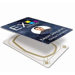 Cartão De Proximidade Pvc Branco