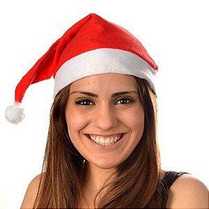 Gorrinho de Papai Noel em Feltro