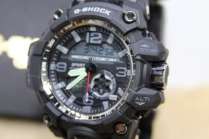 d19b35cce63 Relógio Gshock da Sobrevivência Militar 6 em 1