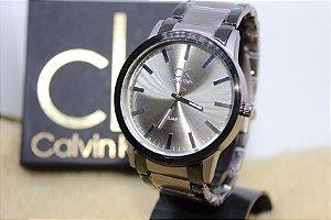 Relógio Masculino CK pulseira de metal 793e4b2d50d