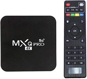 TV BOX MXQ PRO 8gb / 64gb 4K  TRANSFORME SUA TV EM SMART