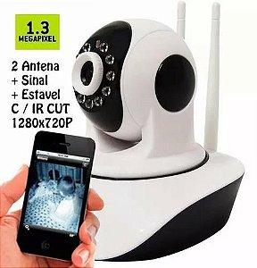 Câmera IP Robozinho Wifi Sem Fio 720hd Com Áudio