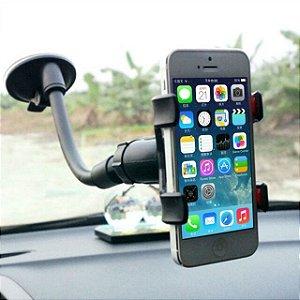 Suporte com Ventosa Para Celular e GPS