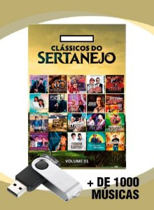 PEN DRIVE GRAVADO COM MAIS DE 1000 MUSICAS COMPLETAS