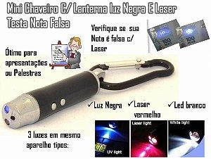 LASER 3 EM 1 (LASER + TESTA NOTA + LUZ LED)