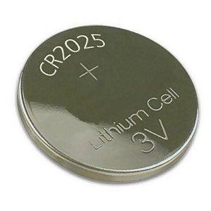 Bateria Cr 2025 Cartela com 5 Unidades Pilha 3v Calculadora Bios Relógio PC NOtebook