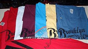 kit 25 camisetas machão adulto com estampas e cores variadas