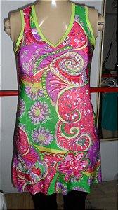 vestido liganete tamanho unico   marca treek rio