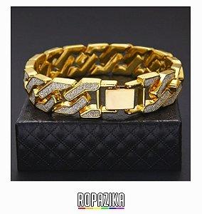 Pulseira GOLD com Diamantes RPZ