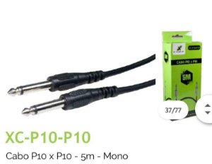 Cabo De Audio P10+P10 Stereo 5M X-cell XC-P10-P10