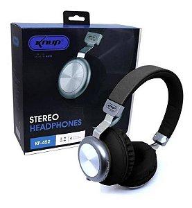 Fone De Ouvido Headphone Sem Fio ExtraBass Exbom Bluetooth Microfone Rádio