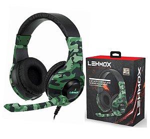 Fone De Ouvido Gamer Headset Pc Camuflado Pc,xbox E Ps4