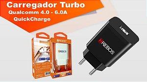 Fonte HREBOS casa Turbo Power 30 Qualcomm 4.0 6A HS165