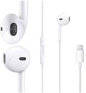 Fone de ouvido para iPhone 7,8,X,11 com fio ( conexão Bluetooth Automática) Genai L27