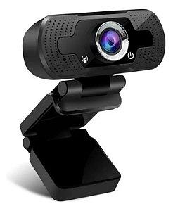 Webcam Full Hd 1080p Câmera Computador Microfone