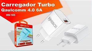 Fonte HREBOS casa Turbo Power 30 Qualcomm 4.0 6A HS183