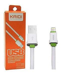 Cabo Carregador Kaidi Usb X Lightning iPhone