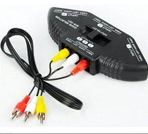 Hub RCA chaveador  Knup KP-3453
