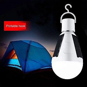 Lampada solar IP67 Outdoor Solar de emergência luz 7W E27 Energia LE