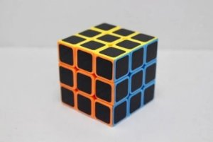 Cubo Magico 3x3x3 Velocidade Fibra Carbono Profissional